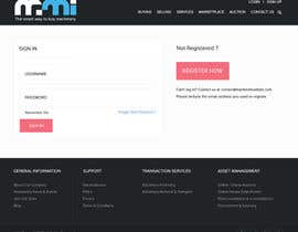 nº 15 pour Responsive Header and Footer - CSS + HTML par tandonkopal01