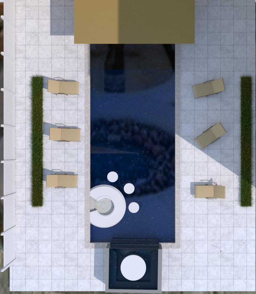 Entry #18 by abdelrahmansabry for Design an Awesome Swimming Pool ...