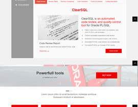 nº 32 pour Polish the draft design of our new corporate website par chouaieb90