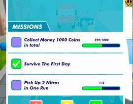 nº 10 pour Design UI for 1 Mobile Game Screen (Simple) par karmachela