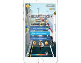 nº 24 pour Design UI for 1 Mobile Game Screen (Simple) par ukybasuki