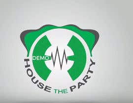 nº 37 pour Make Logo Bounce & Shake in GIF - House The Party par Rodidesign