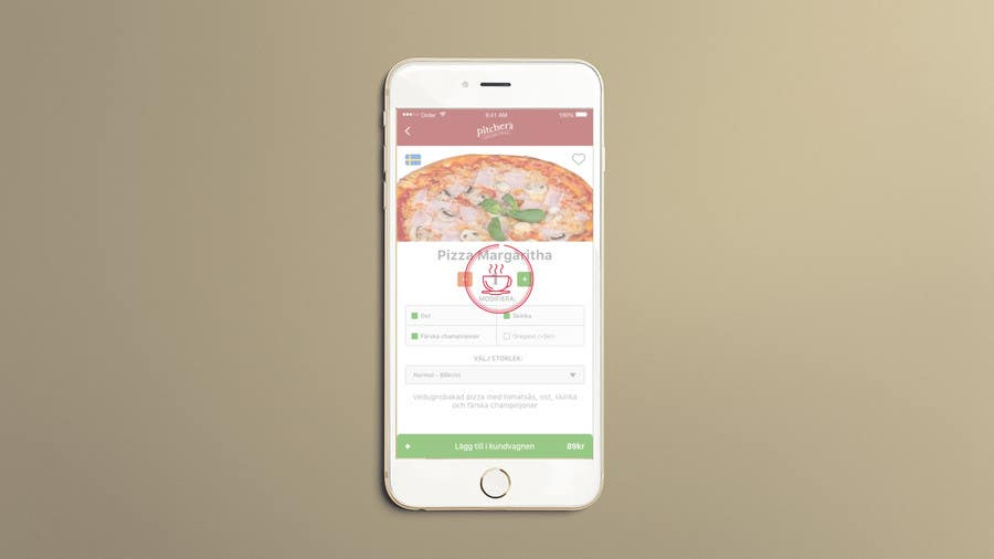 Entry #4 by D1G1TALKARMA for Loading animation for food app