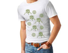nº 6 pour Design 3 simple lined camping/outdoor T-shirts par veranika2100