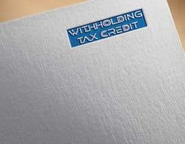 nº 35 pour Design a logo for a tax website par sapfin007