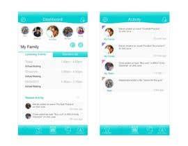 nº 57 pour Design an App Mockup par saliyachaminda