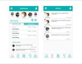 nº 61 pour Design an App Mockup par saliyachaminda