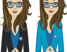 nº 32 pour Female Cartoon Character based on person (Joan) par ashvinirudrake13
