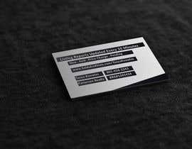 nº 25 pour Design a business card-sized leave behind par jesminnahar69