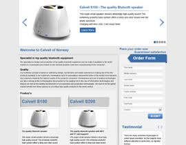 #84 para Website Design for Calvell.com por kosmografic