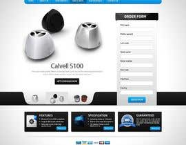 #79 para Website Design for Calvell.com por mughikrish