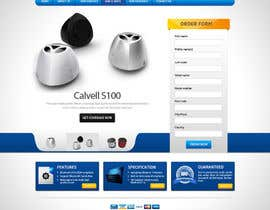 #80 para Website Design for Calvell.com por mughikrish