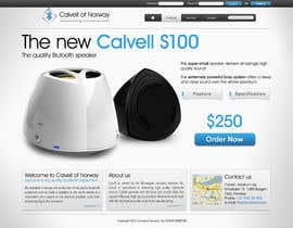 #75 para Website Design for Calvell.com por SHIBANISOFT