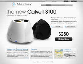 #76 para Website Design for Calvell.com por SHIBANISOFT