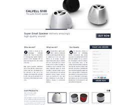 #77 para Website Design for Calvell.com por datagrabbers