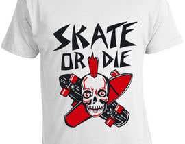 nº 7 pour Skate Related T-shirt design par saurabh295