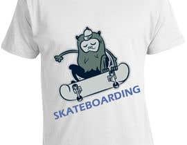 nº 12 pour Skate Related T-shirt design par saurabh295