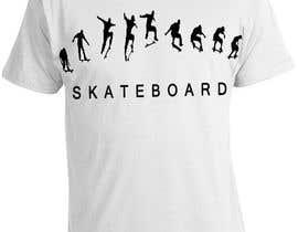 nº 13 pour Skate Related T-shirt design par saurabh295