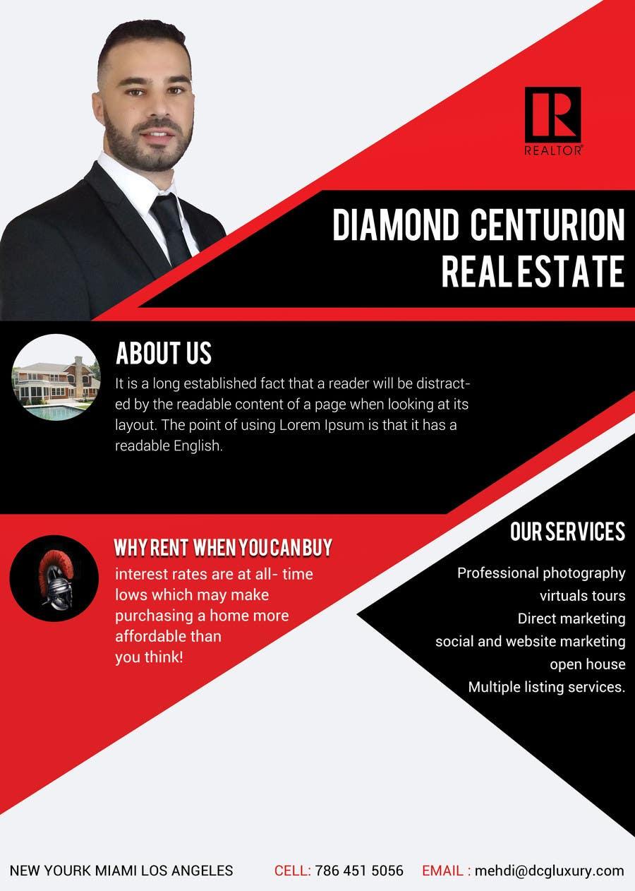 Proposition n°7 du concours Flyer real estate