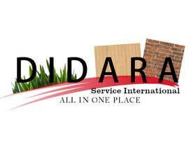 #51 para Diseñar un logotipo for DIDARA SERVICE INTERNATIONAL de alexmena80