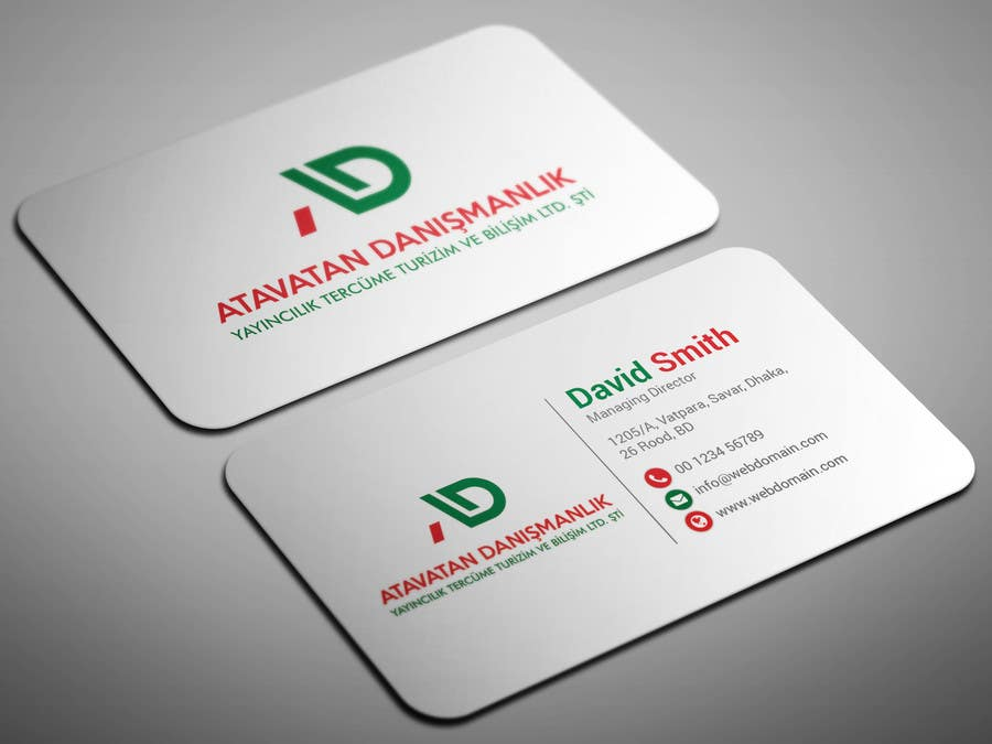 Proposition n°18 du concours Design some Business Cards
