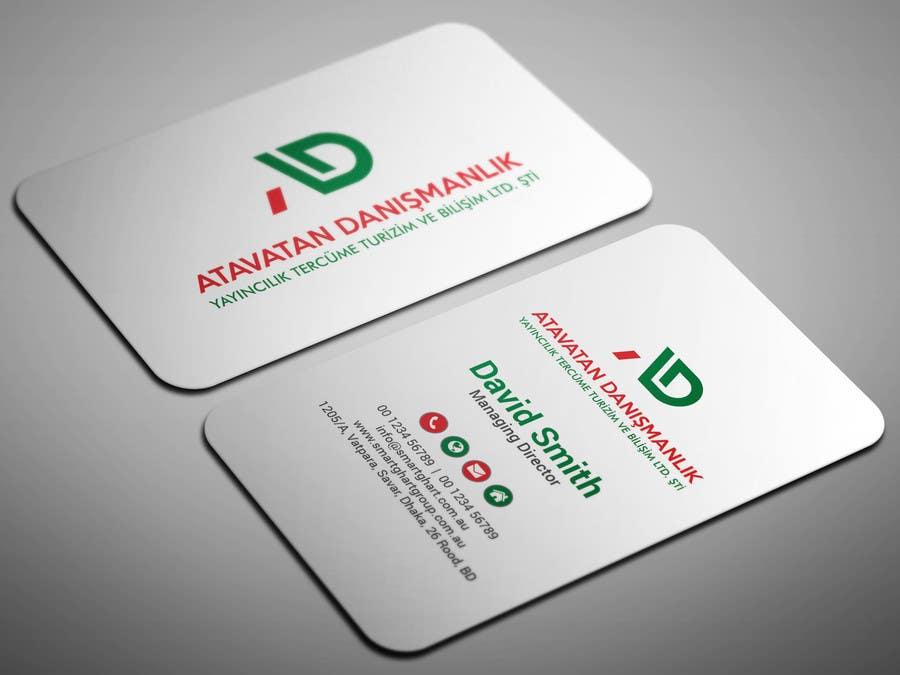 Proposition n°58 du concours Design some Business Cards