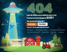 nº 42 pour Design a creative 404 page for Freelancer.com par freeland972