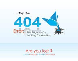 nº 40 pour Design a creative 404 page for Freelancer.com par gplayone