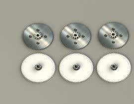 nº 14 pour Simple 3D illustration of metal/plastic gears par palyokhan