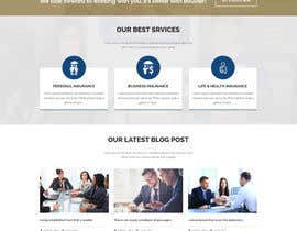 nº 22 pour Design a Website Mockup for an insurance company par Saheb9804