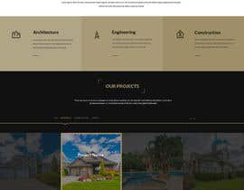 nº 21 pour Website for an Architecture, Engineering and Construction Company par gravitygraphics7