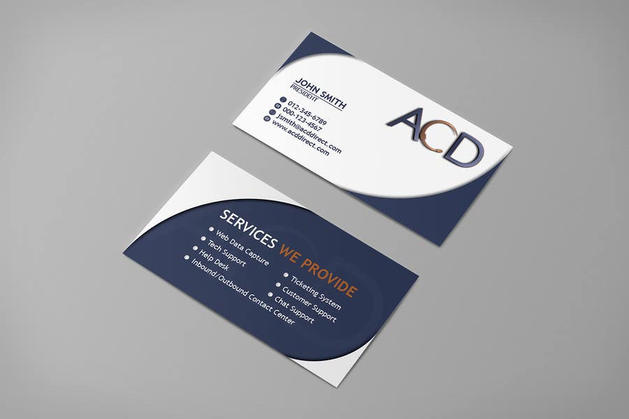 Entry #75 by inovatiq for Business Card Design | Freelancer