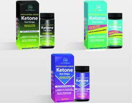 nº 28 pour Create a Label and Packaging  for my ketone test strips product. par sandyjoshi6969