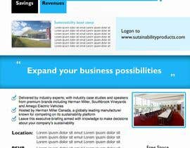 #36 para Business Sustainability Boot Camp - 1 page digital flyer por ysomanagari