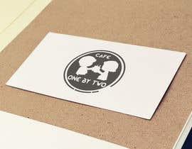 nº 131 pour Design a Logo for 1by2 Cafe par graphicdreamboy