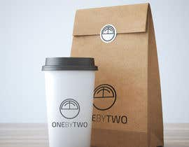 nº 60 pour Design a Logo for 1by2 Cafe par threebee