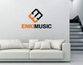 nº 64 pour Design a Logo for Enki Music par GraphicsPolestar