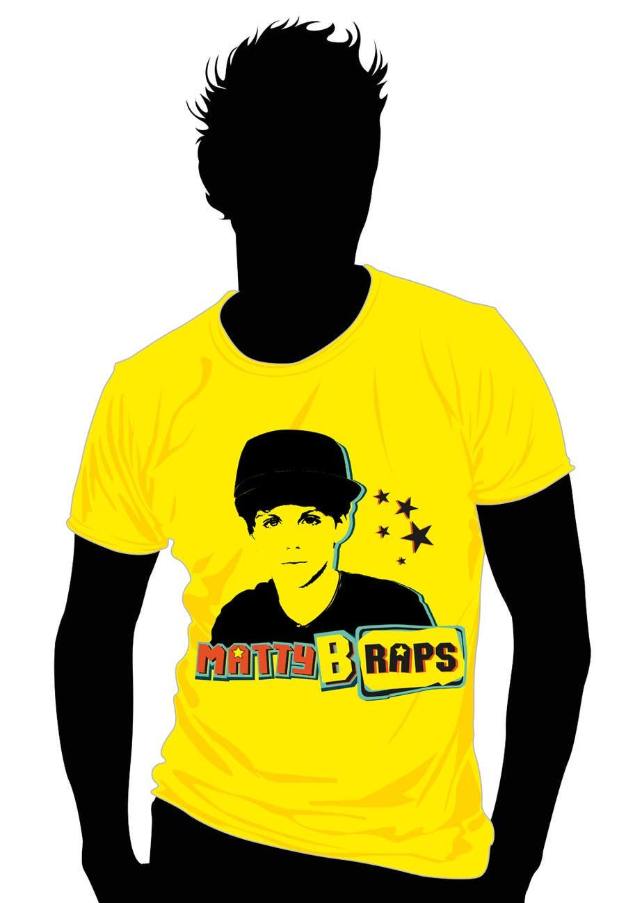 Конкурсная заявка №69 для Cool T-shirt Design for MattyBRaps