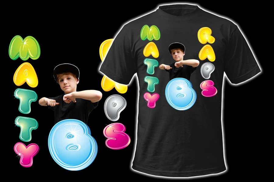 Konkurrenceindlæg #84 for Cool T-shirt Design for MattyBRaps