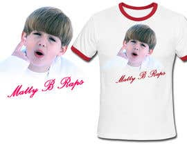 #90 para Cool T-shirt Design for MattyBRaps por venug381