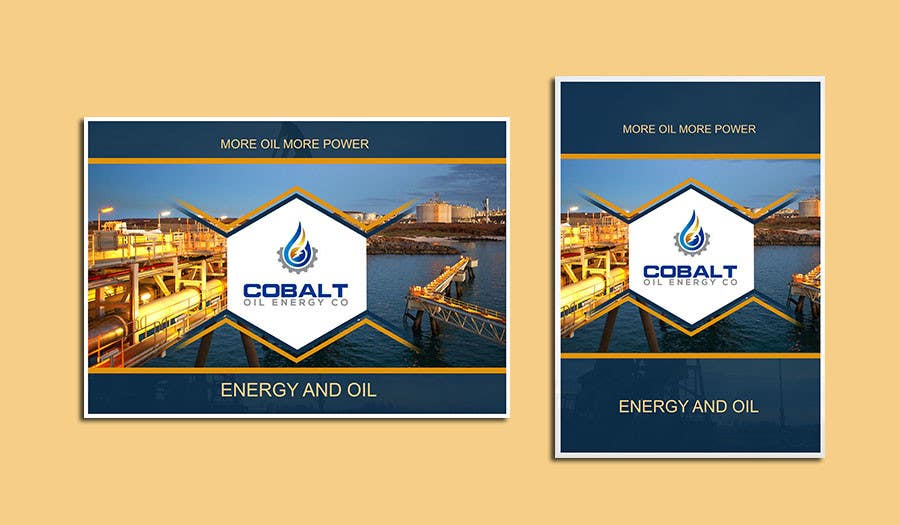 Proposition n°47 du concours Cobalt Oil Energy poster cover
