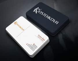 nº 109 pour Design some Business Cards par durlavbala