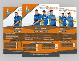 nº 44 pour Design an a5 flyer for a cleaning business par Forhad95s