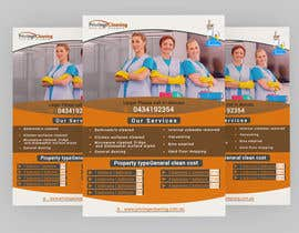 nº 51 pour Design an a5 flyer for a cleaning business par Forhad95s