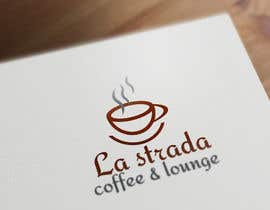 "nº 104 pour Design a Logo for my coffe house/bar/lounge named ""La strada coffee & lounge"" par Dristy963"