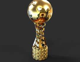 nº 52 pour Design a 3D Trophy, Mockups entries aren't acceptable par ahmadnazree