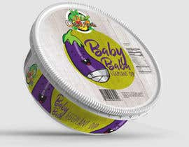nº 6 pour Create Print and Packaging Designs for Hawaii Farm Eggplant Hummus (babaganouch) Deli Container par kempendesign57