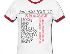 """nº 8 pour """"Tour T-Shirt"""" par Shakibraju"""