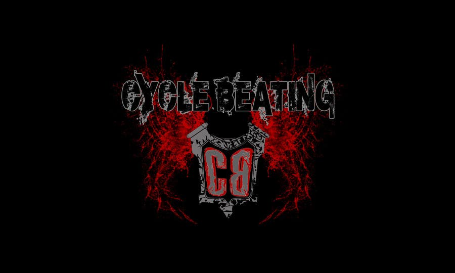 Contest Entry #79 for Logo Design for heavy metal band CYCLE BEATING