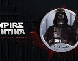 nº 12 pour Star Wars Game Group Logo Design par alldesign89